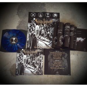 Copyright: Iron Bonehead Productions / Ritualization; detailed cover blue/black splatter-vinyl (limited to 100 copies)